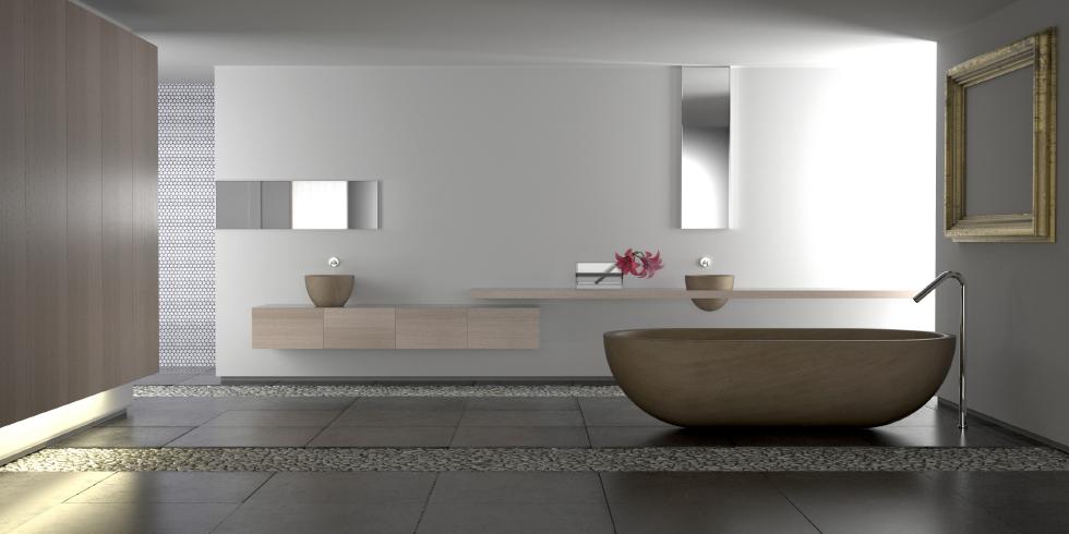 Luxury modern bathroom mrsstonestore for Carrelage villeroy et boch salle de bain